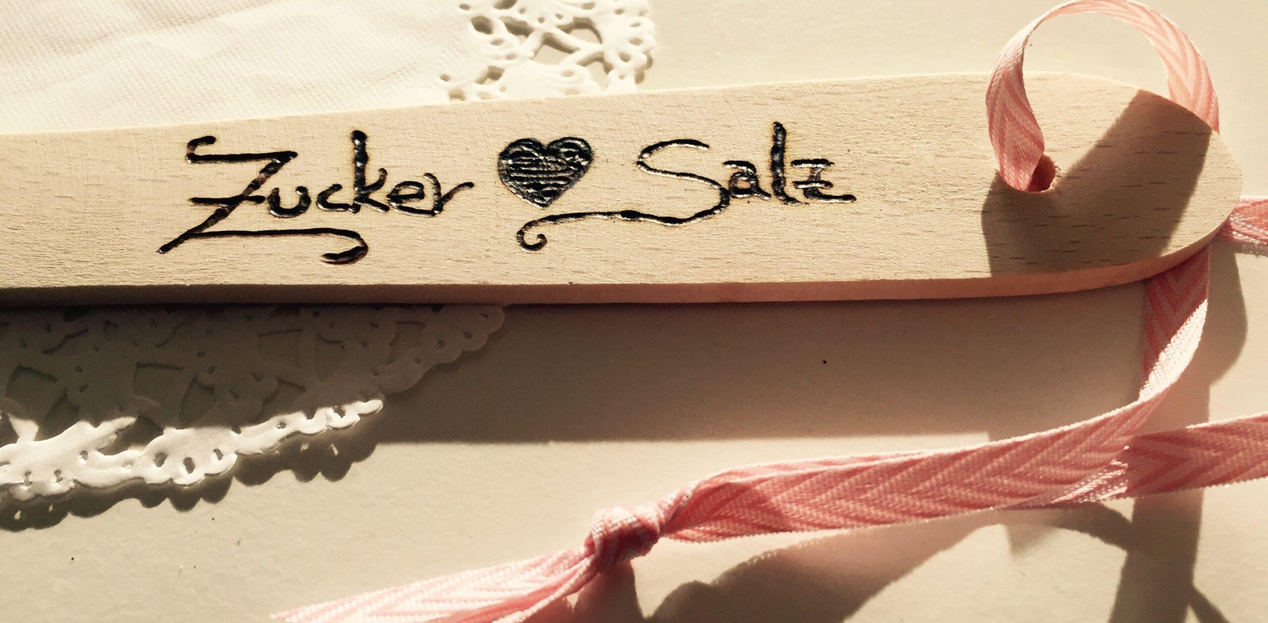 Zucker liebt Salz - Ueber mich - Holzloeffel